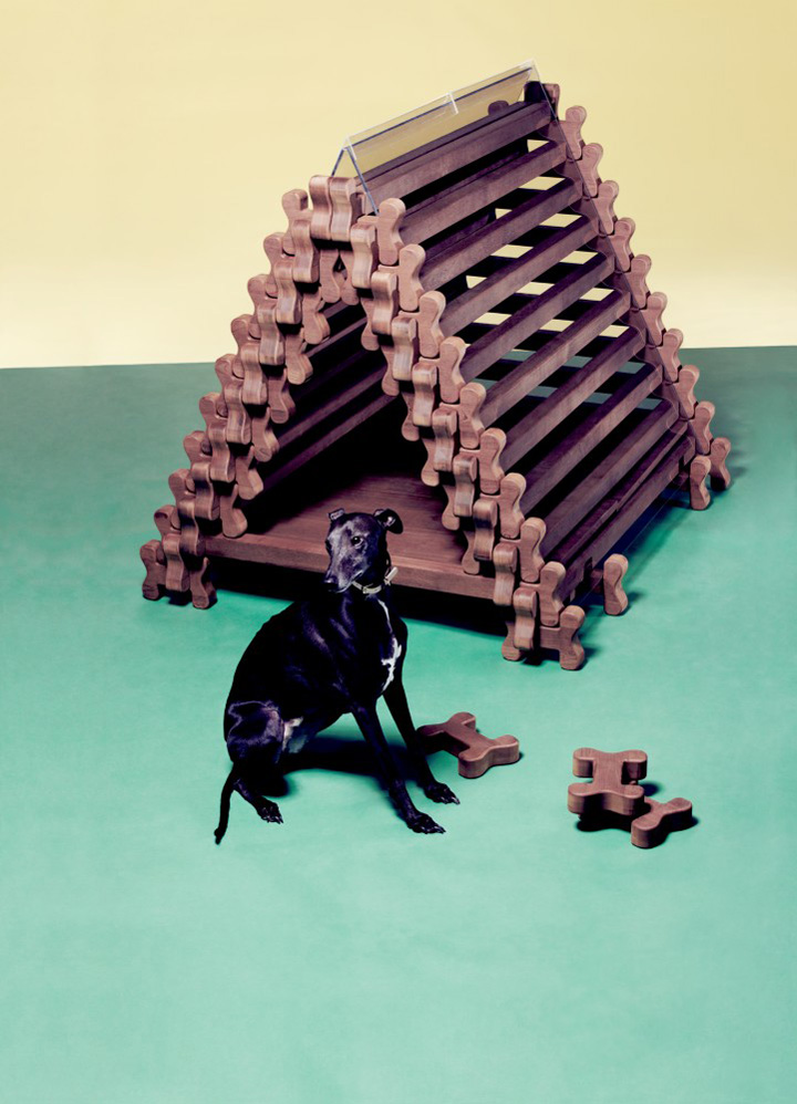 Dog retreat by Jarmund/Vigsns Arkitekter, Moderne Materiell and Kebony