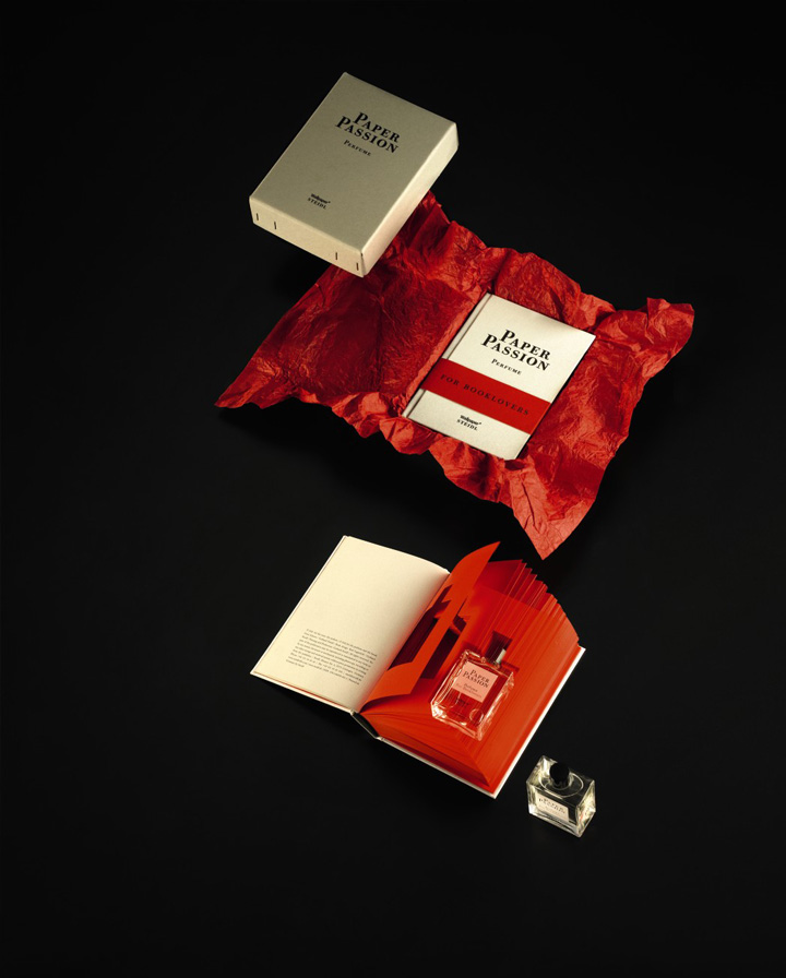 Paper Passion perfume by Geza Schoen, Steidl and Karl Lagerfeld