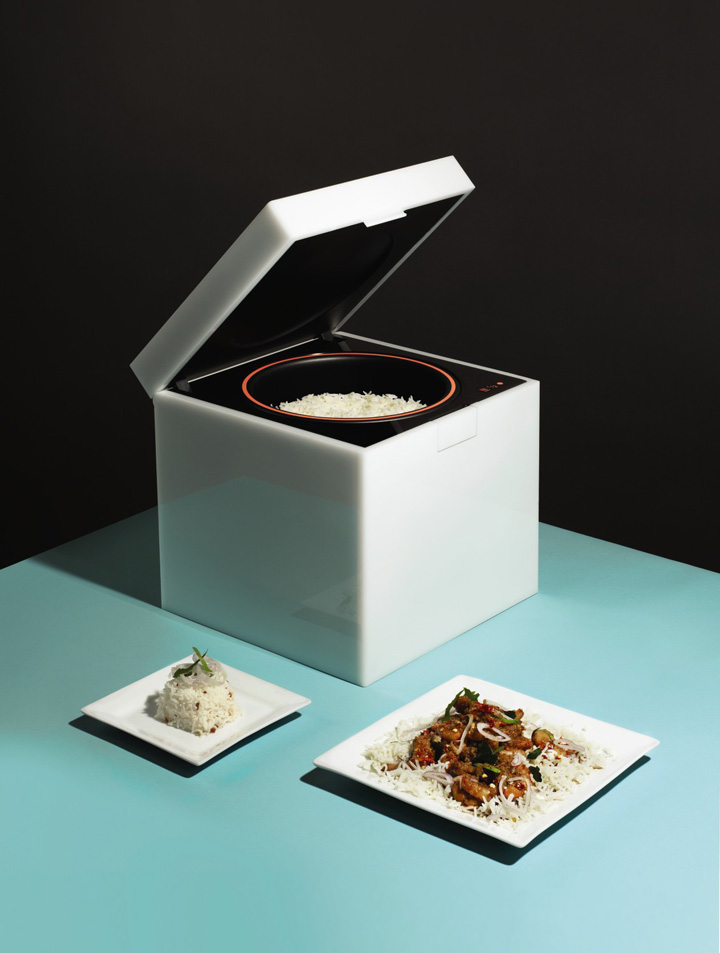 'RiceCube' by Michael Elmgreen and Solve 3D