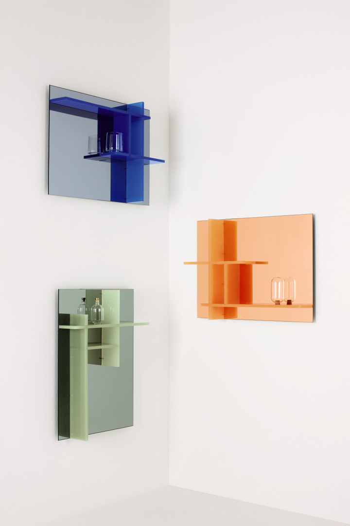'Sopa' mirror cabinets and bathroom containers by De Intuïtiefabriek
