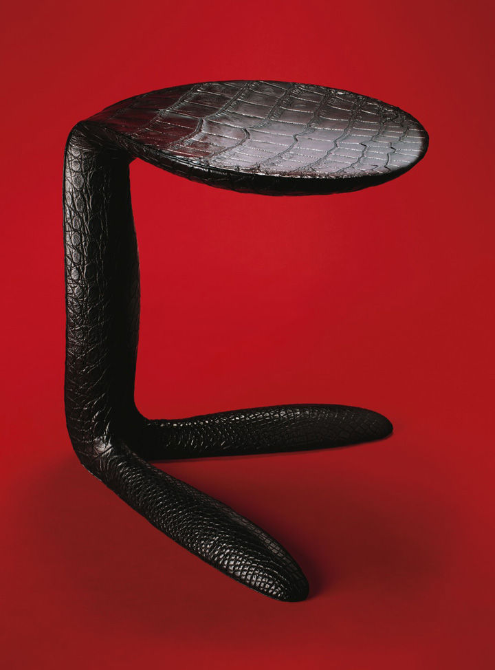 'WS' stool by Aldo Bakker and Santiago Gonzalez