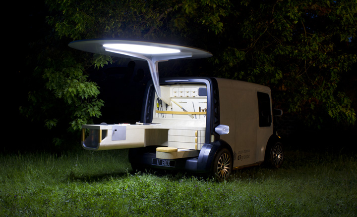 'Toolbox' vehicle by Jouin Manku and D3 Groupe